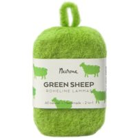 green-sheep-felted-soap-nurme